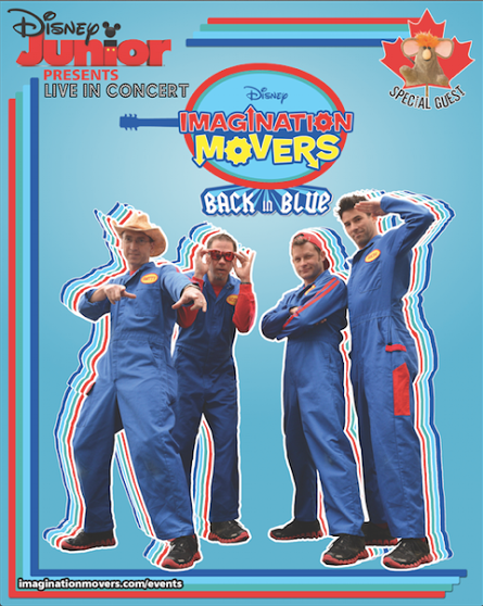 Imagination Movers Back in Blue Tour