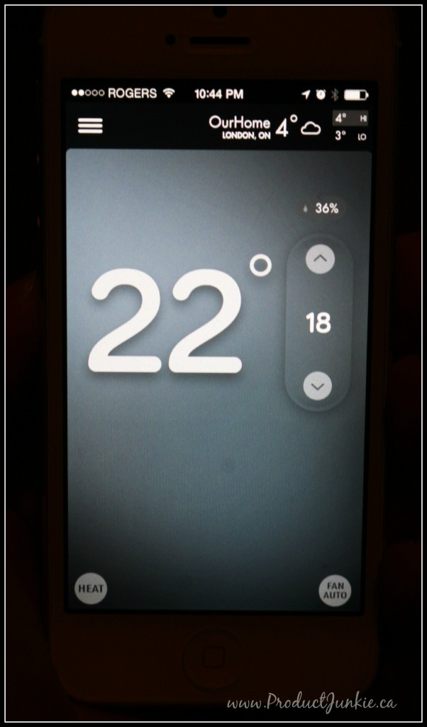 Intuitive control with the emerson sensi wi fi thermostat for Emerson sensi