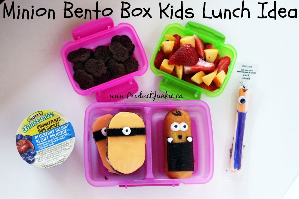 minion bento box fun lunch ideas for kids. Black Bedroom Furniture Sets. Home Design Ideas