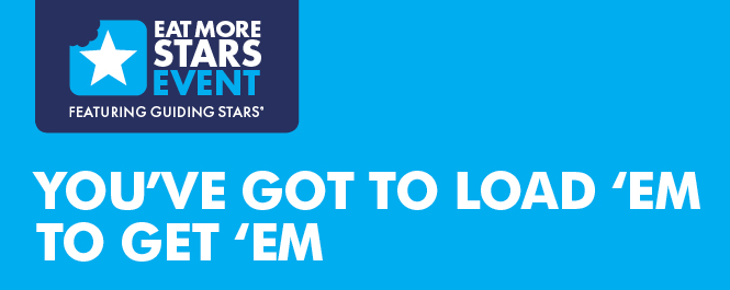 Earn Free Groceries faster when you #EatMoreStars Thanks to #GuidingStarsCA #PCStars