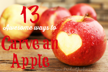 13 Awesome Ways to Carve an Apple | Video Tutorial Round-up #Fall