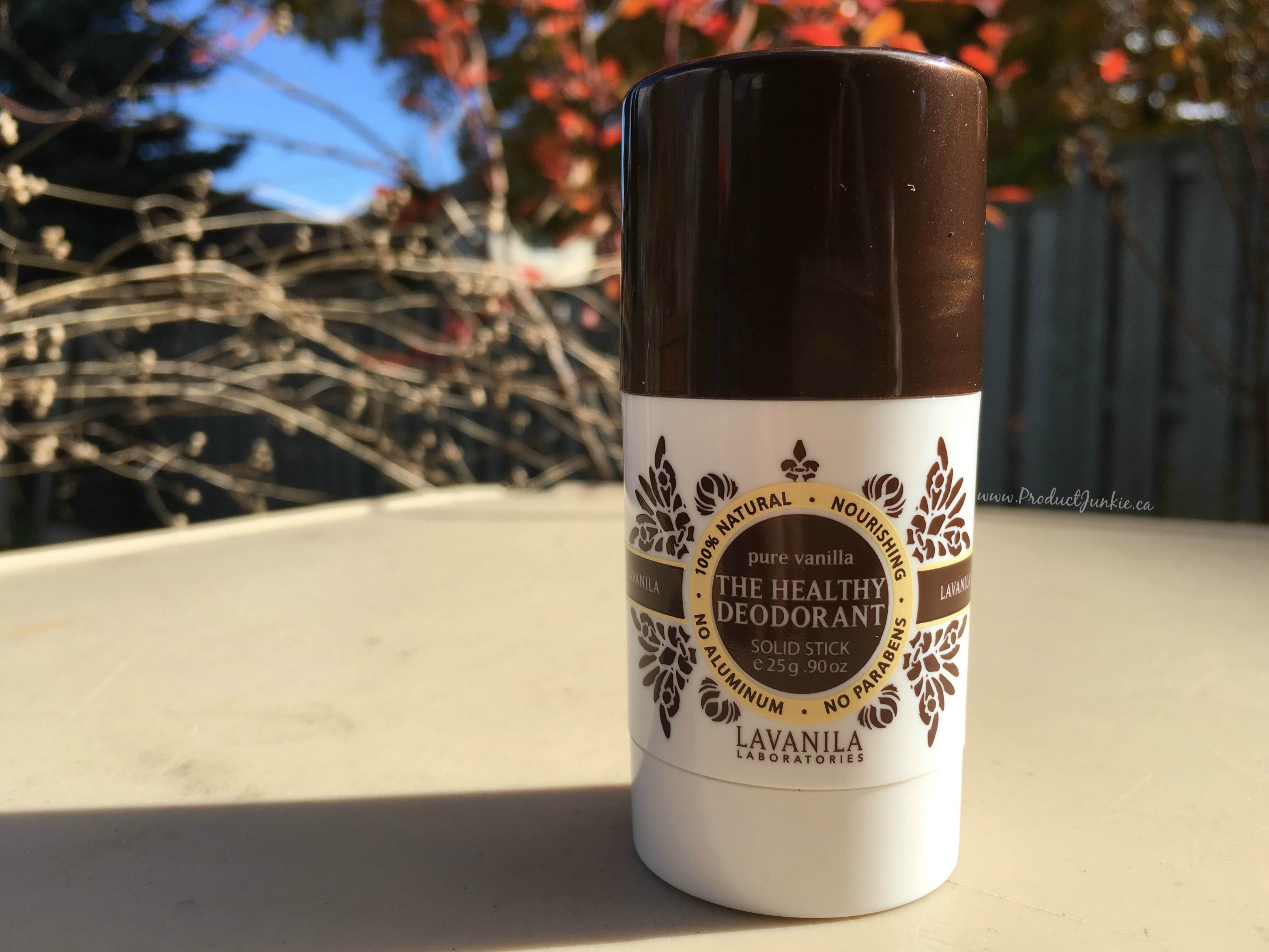 Lavanila Pure Vanilla: The Healthy Deodorant Review & Giveaway