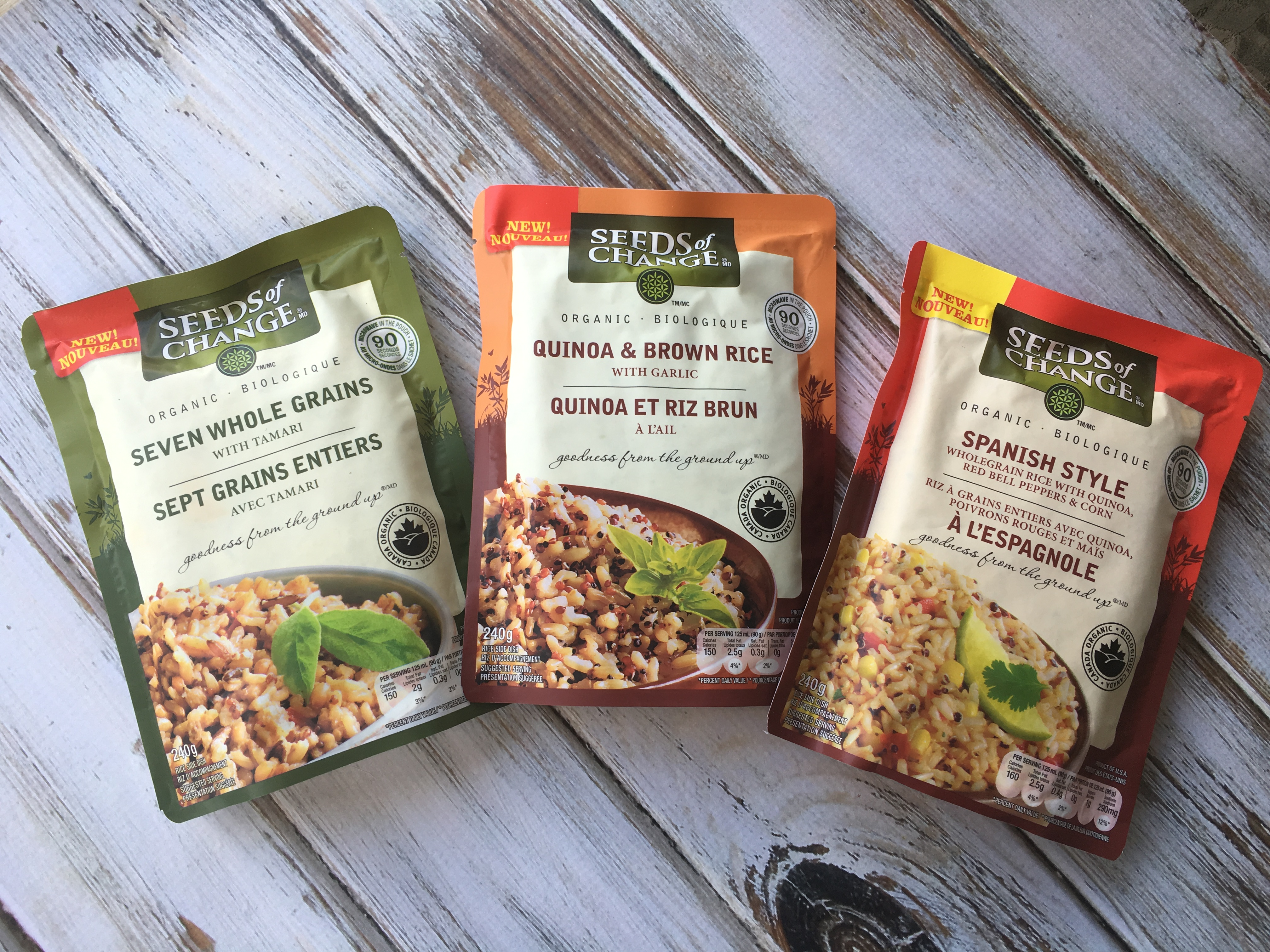 Meals Made Easy with Seeds of Change #SeedsOfChangeCA