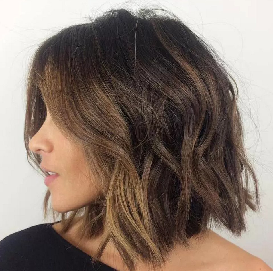 Short and hassle free hair